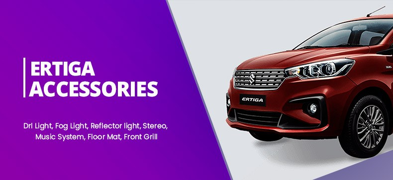 Maruti Suzuki New Ertiga 2018 Accessories and Parts Online